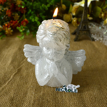 Nicole 3D Silicone Mold for Soap Candle Making Praying Angel Shape Mould DIY Handmade Craft Tool