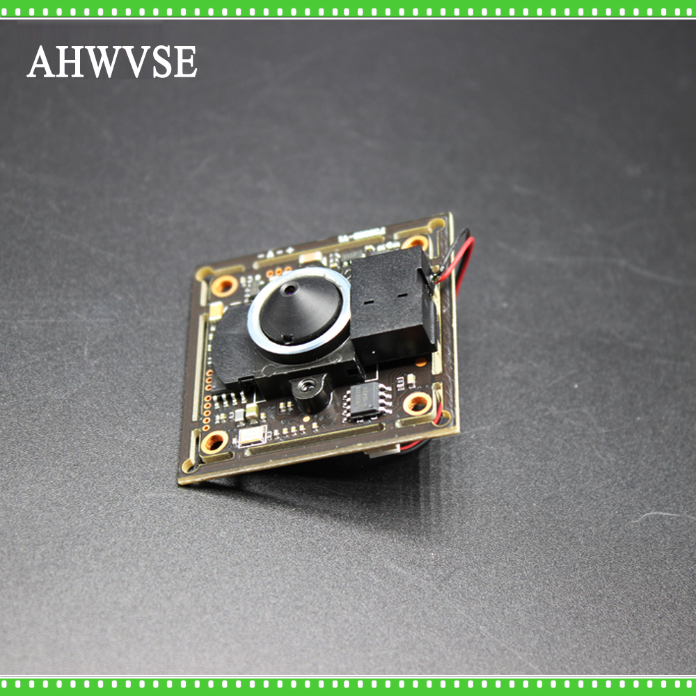 Mini AHD Camera Module Board PCB SONY IMX323 with 3.7mm Lens for Pinhole AHD Camera 1080P IRCut NightVision CCTV