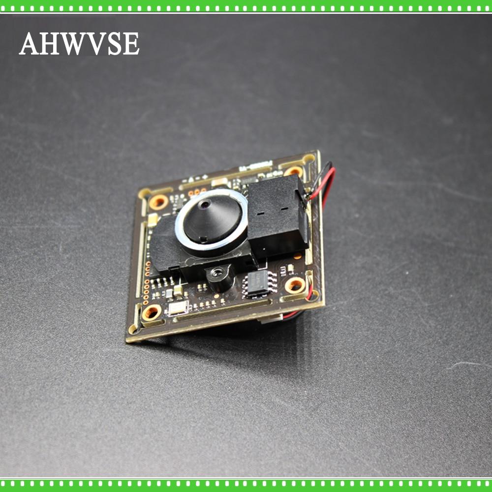 Mini AHD Camera Module Board PCB SONY IMX323 with 3.7mm Lens for Pinhole AHD Camera 1080P IRCut NightVision CCTV