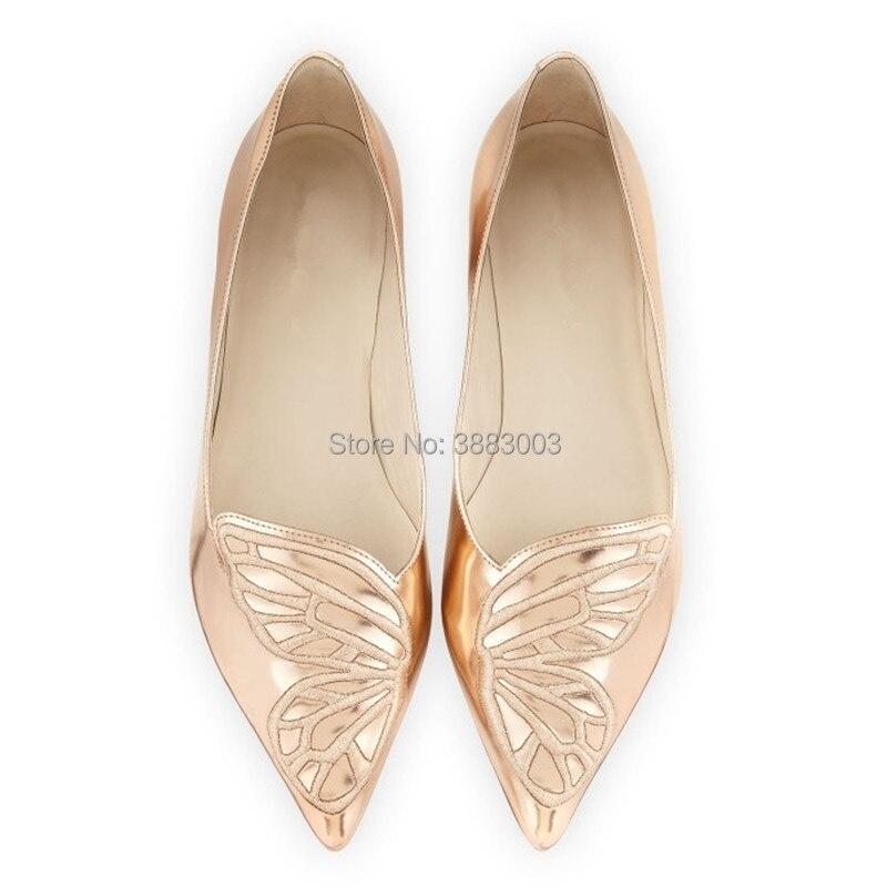Chaussures Plat Femme As Nouvelle as Slip Sur Mocassins Sliver Femelle Aile Arrivée Papillon Daim Pointu Confortable En Casual Bout Pic Pic as Femmes vNny80wOm