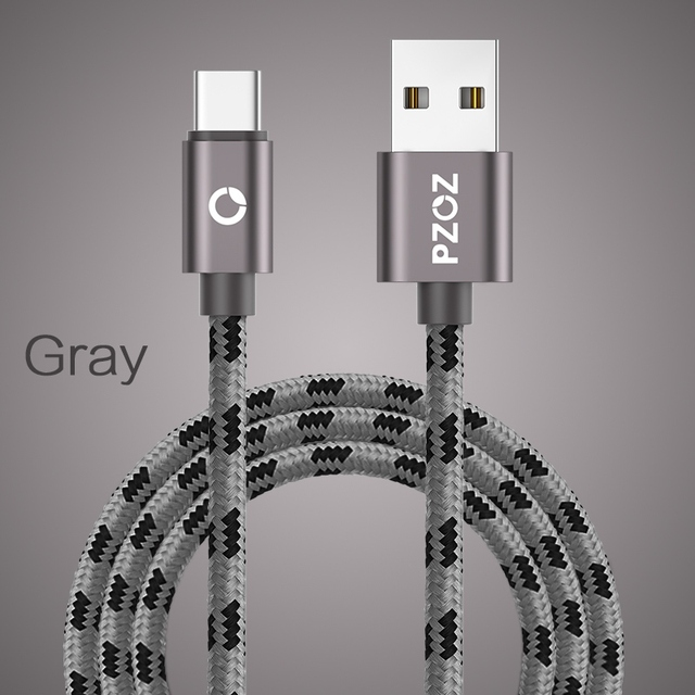 PZOZ USB Type C Fast Charging usb c cable Type-c 3.1 data Cord Phone Charger For Samsung S9 S8 Note 8 Xiaomi mi6 huawei adapter