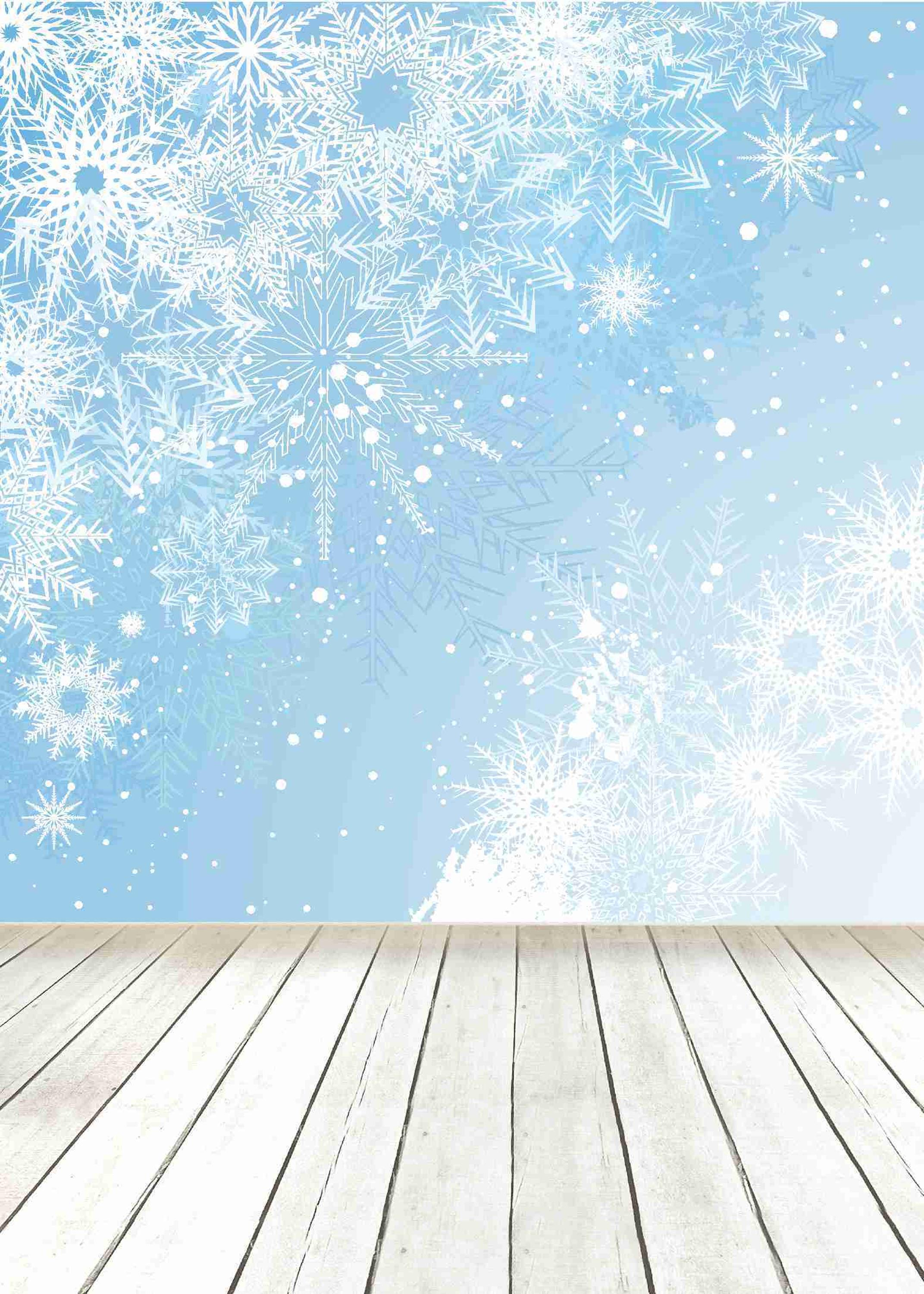 Photo Backdrops Snowflake Wooden Floor Photo Props Photography Background for Studio Vinyl 5x7ft or 3x5ft Jiesdx124 piano backdrops wooden floor wedding stor photo props background vinyl 5x7ft or 3x5ft