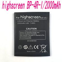 New original High Quality 3.8V 2000mAh Highscreen BP-4R-I  Battery for Highscreen BP-4R-I mobile phone in stock+ Free shipping