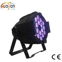 Скидка! Бесплатная доставка: 180 Вт Светодиодный светильник 18x10 Вт LED Par 64 5 в 1 светодиодный Par64 Точечный светильник Освещение сцены DJ DMX512