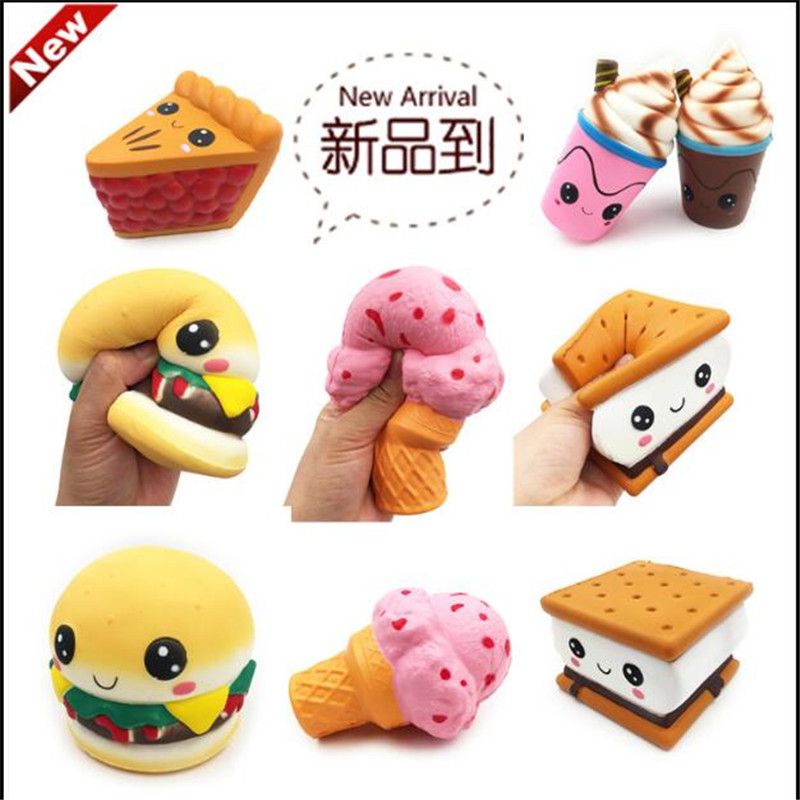 Mobile Phone Accessories Capable Slow Rising Sweet Scented Vent Charms Bread Cake Kid Fun Gap Toy Gift Mobile Phone Strapes Kawaii Squishy Penguin Animal