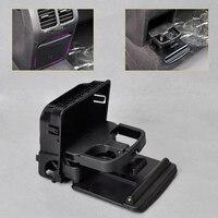 beler 1K0862532 1K0 862 532 F 9B9 New 1Pc Black Rear Armrest Central Console Cup Holder For VW Volkswagen Jetta MK5 Golf GTI MK6