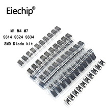 Assort-Kit Schottky Diode-Set SMD Diy 1N4007 SS34 1N5822 SS24 SR240 SS14 6-Value 10pcs--60pcs