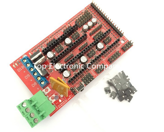 RAMPS 1.4 3D printer control panel printer Control Reprap MendelPrusa for Arduino 3d printer Diy kit