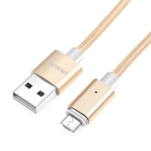 USB Charger Automatic Adsorption Magnetic Cable Micro USB Cable For Samsung Android Phones Charge Magnet Micro USB Cables