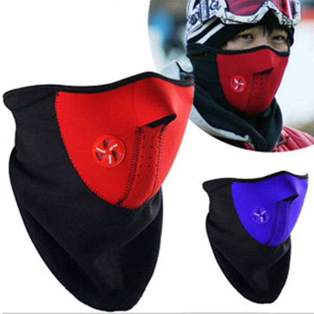 Fashion Winter Dust Face Mask Windproof Neck Guard Warm Face Mouth Mask Men Women  Protection Bicycle Snowboard 3 Colors T012OLE 24c85d862