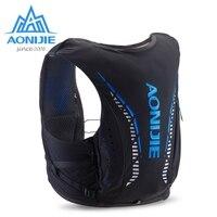 AONIJIE 10L уличные сумки для гидратации, походный рюкзак, жилет, Профессиональный марафон для бега, велоспорта, Улучшенный кожаный рюкзак