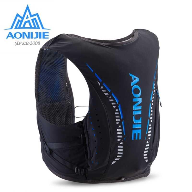 AONIJIE 10L Outdoor Hydration torby plecak turystyczny kamizelka profesjonalny maraton bieganie jazda na rowerze zaawansowany plecak skóry