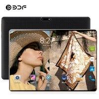 BDF 8 ГБ ОЗУ 128 Гб ПЗУ 10 дюймов планшетный ПК Google Play 4G LTE Android 9,0 десять ядер WiFi планшеты 10,1 IPS 1280*800 Dual SIM телефон
