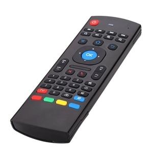 Image 2 - MX3 портативный 2,4G беспроводной пульт дистанционного управления клавиатура управление ler Air Mouse для Smart TV Android TV box mini PC HTPC black