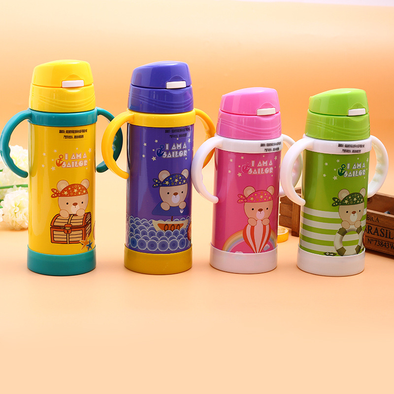 Kids School Mug Water Termos Bottle Steel Thermal Stainless Coffee Insulated Thermo 59500ml Travel Cup In Child Us12 Flask Thermos Vacuum qVSpMUz