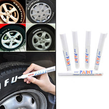 Youwinme 1 stuks Universele Waterdichte Auto Motorfiets Auto Wheel Tyre Band Verf Marker Pen Rubber Permanente(China)
