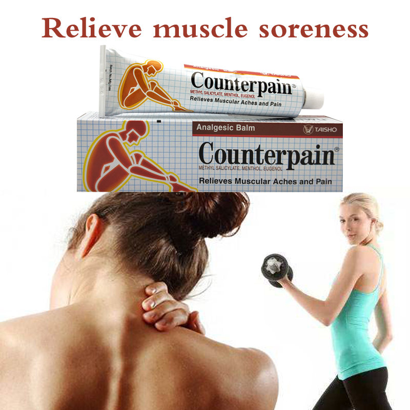 120g <font><b>Thailand</b></font> Counterpain Analgesic Balm Relieves Muscle Aches and Pain Relieve Pain Balm Rheumatoid Arthritis Ointment image