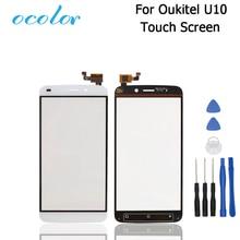 Для Oukitel U10 Сенсорный экран сенсорный Панель идеальный ремонт Запчасти для Oukitel U10 Сенсорный экран 5,5 дюйма Аксессуары для мобильных телефонов