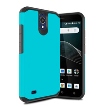 цена на Dual Layer Hybrid Armor Case For AT&T Axia Shockproof Anti Scratch Protective Soft TPU & Hard Back Cover For LG G8 ThinQ/LG V50