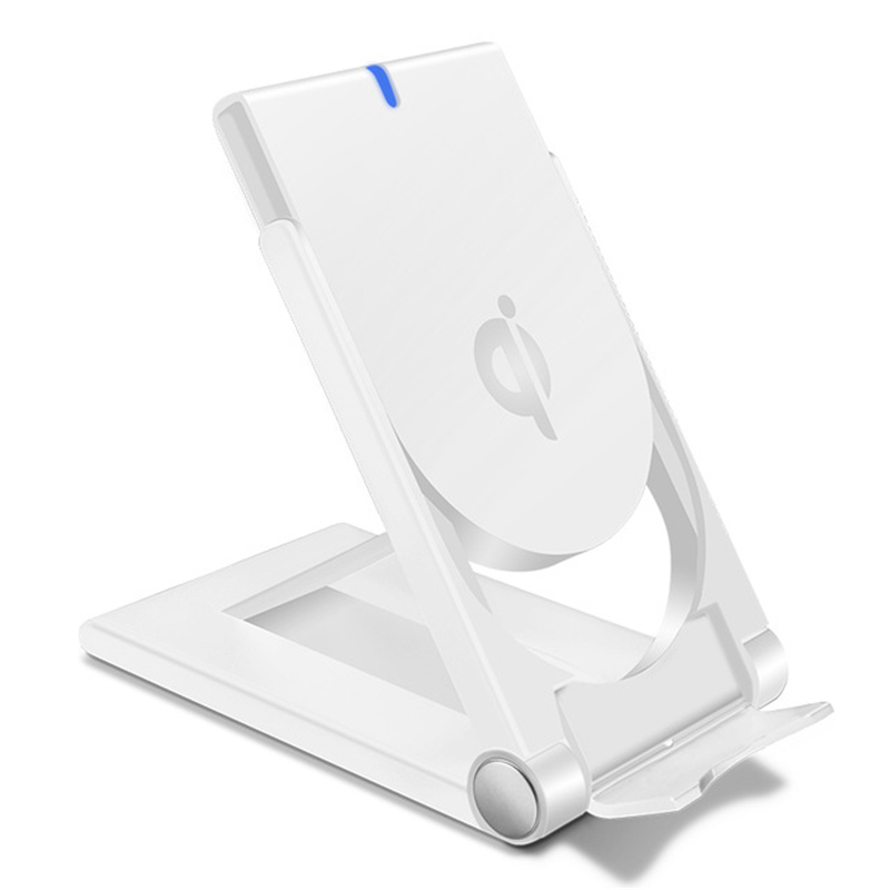qi fast wireless charger for samsung s9 s8 plus chargeur. Black Bedroom Furniture Sets. Home Design Ideas
