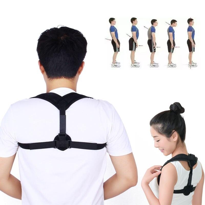 Clavicle Posture Corrector Back Support Belt Shoulder Bandage Corset Back Orthopedic Brace Scoliosis Rugbrace Posture Corrector