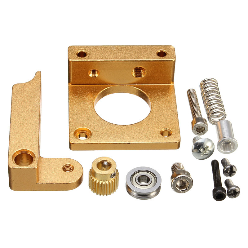 3d printer MK8 extruder  aluminum block DIY kit Set / w NEMA 17 Stepper Motor 1.75mm 1.7A 2000g for RepRap
