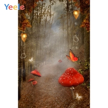 Yeele Fairy Forest Mushroom Princess Wonderland Scenery Photography Backgrounds Custom Photographic Backdrops For Photo Studio