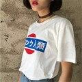 Новый 2016 Harajuku тройник Японский эксклюзивный пользовательский с коротким рукавом футболки женщин, человеконенавистнического торговли девушку футболка женская Clothing
