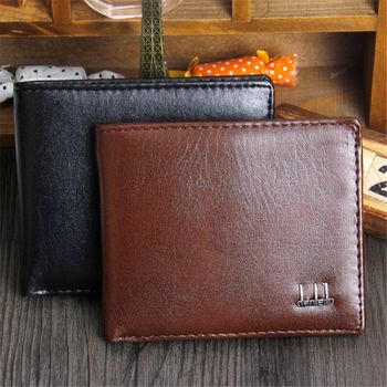 ISKYBOB Men's Wallet Men Purse Clutch Bag Male Wallet Coin Short Section Portfolio Card Pocket Holder Purses Men Wallets