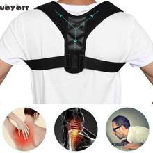Body Wellness Posture Corrector Clavicle Spine Back Shoulder Lumbar Brace Support Belt Correction Prevents Slouching