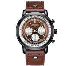 219260be8c7 Aviador cronômetro esportes militares assistir. relógio de quartzo dos  homens. O novo real dos