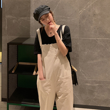 Pregnant Strap Rompers Womens Jumpsuits Casual Pregnancy Pants Sleeveless Trousers Overalls Spring Summer Maternity Clothings 2017 new summer sleeveless rompers men overalls black collapse pants suspenders jeans one piece trousers singer costumes pants