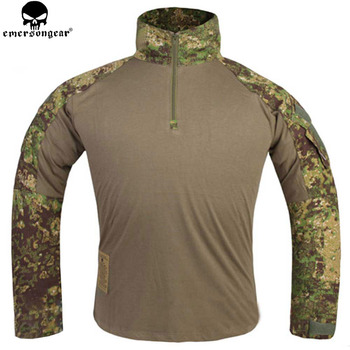 EMERSONGEAR Gen 3 Hunting Clothes Tactical Shirt Military Army Paintball Airsoft Camo Jacket JD EM9244