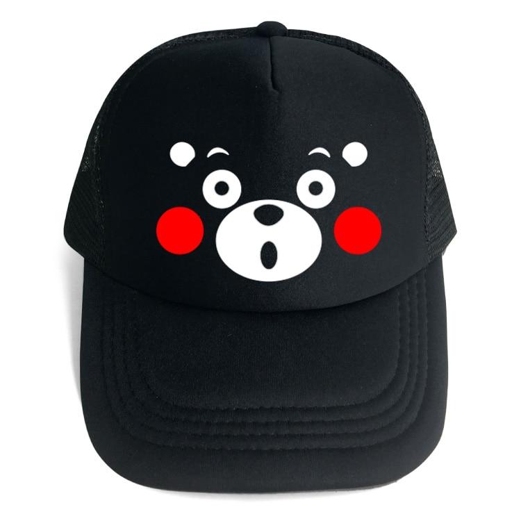 High Quality Japan Mascot Kumamoto-ken Kumamon Baseball Caps Hats Men Women  Bear Snapback Hat Unisex