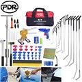 PDR инструменты для удаления вмятин  крючки  набор для ремонта штоков  инструменты для удаления вмятин  инструменты для ремонта автомобиля  н...