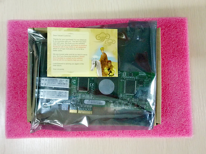 Network Adapter QLE8240-SR Single Port 10GB PCI-E one year warranty