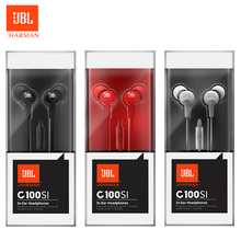 JBL C100SI In-ear Headphones for Smartphone