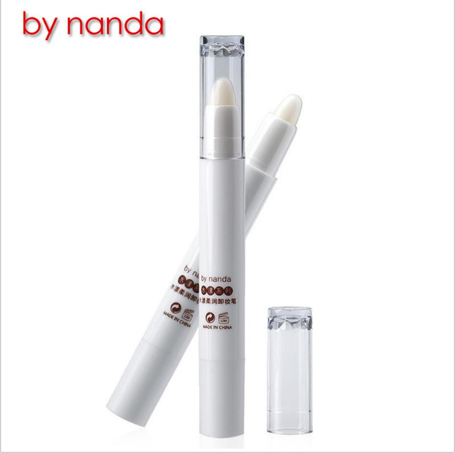By nanda Brand makeup remover pen Eyes Lip Fixed Makeup Pen Quick Cleansing Cream Eye Lip Cosmetic No residue Remover 4114