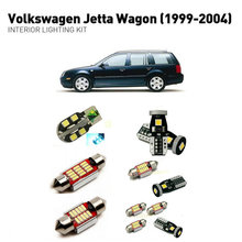Led interior lights For volkswagen jett-a wagon 1999-2004  11pc Lights Cars lighting kit automotive bulbs Canbus