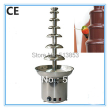 110v 220v Electric 105cm 7 tiers Stainless steel Commercial chocolate fountains for party