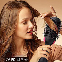 1000 W Cepillo From Professional Hair Dryer 2 En 1 Smoother The Electric Fart Con Peine Styler