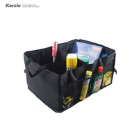 Karcle Universal Car Back Folding Storage Box Car Accessories Oxford Fabric Multi Use Tools Organizer Car