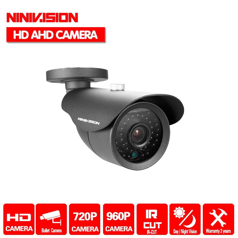 Big Promotions,NINIVISION HD AHD Security Camera 1.0MP 720P 960p 1.3mp 2500TVL Camera AHD Surveillance Camera IR Cut Filter