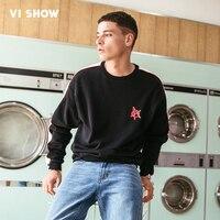 VIISHOW New Hoodie Sweatshirt Mens Brand Clothing Casual Fashion Printed Hoodies Men Quality Pullover Sweatshirts Male