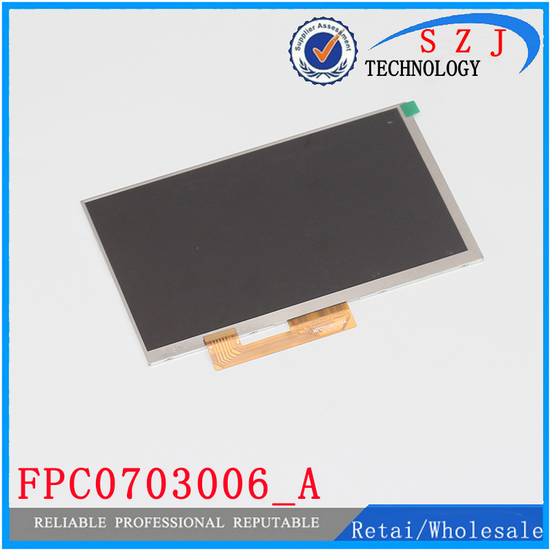 Original 7'' inch LCD Display Matrix FPC0703006_A FPC0703006 3G TABLET 1024*600 LCD Screen Lens Frame replacement Free Ship