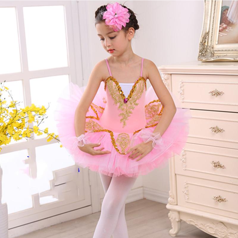Ballet robe Tutu Ballet fille professionnel Ballet Costumes filles cygne lac enfants scène Performance Dancewear DNV10269