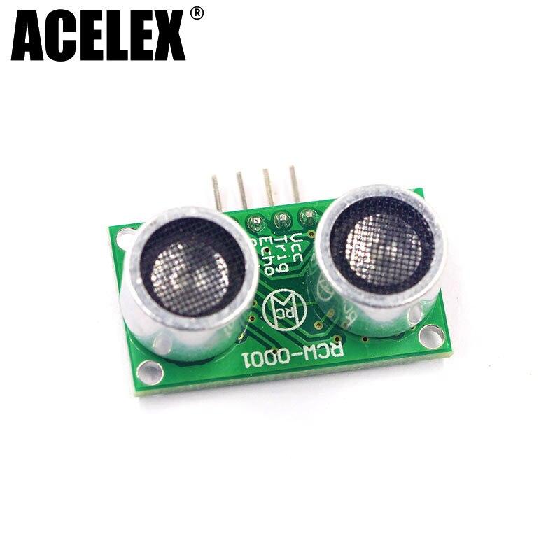 1pcs RCW 0001 Micro Ultrasonic range Distance Measuring module robot font b electronics b font 3