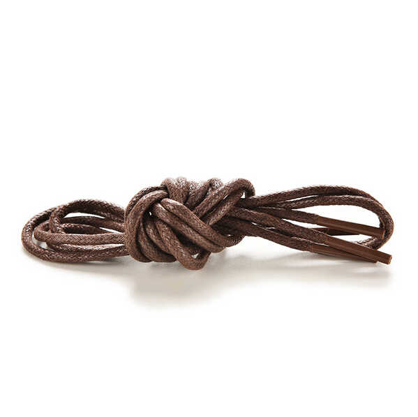 New 8 Colors Waxed Coloured Shoelaces For Leather Shoes Laces Round Strings Martin Boots Sport Shoes Cord Ropes 1Pair