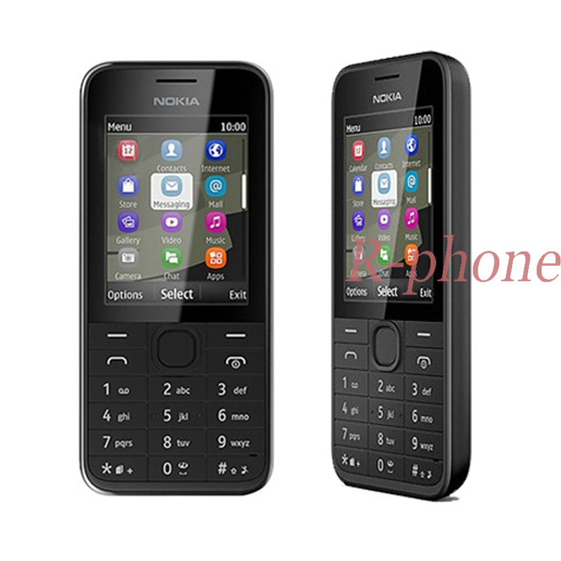 Refurbished Original NOKIA 208 Single Sim Version GSM Unlocked Mobile Phone Hebrew