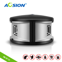 Ücretsiz kargo Aosion ultrasonik fare sıçan kovucu için ev, ofis, restoran herhangi bir sprey veya kimyasal